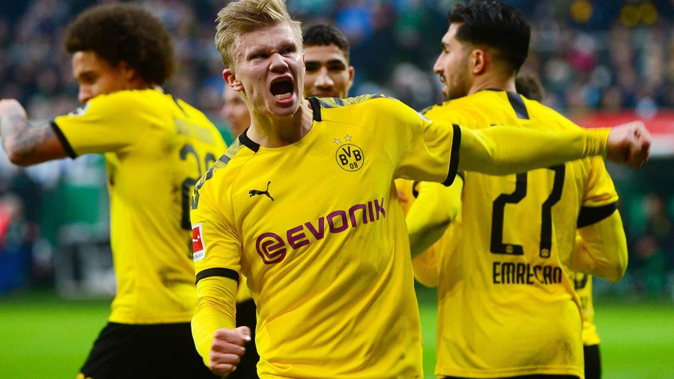 Allemagne: Dortmund gagne et revient à 4 points du Bayern. Photo: AFP