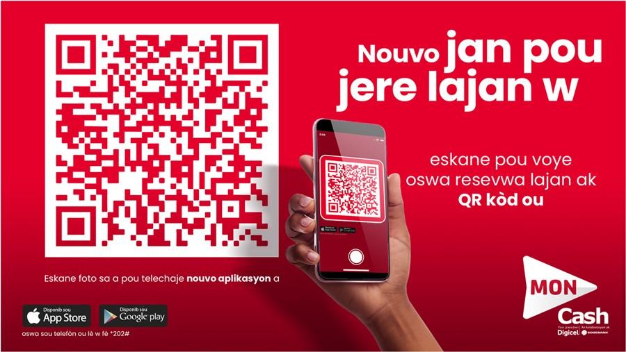 Digicel : MonCash rehausse le service de paiement /