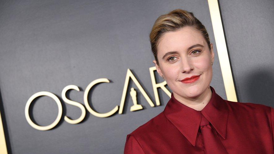 """Cette année, les critiques se sont cristallisées autour de l'Américaine Greta Gerwig, réalisatrice du film """"Les Filles du Docteur March"""", que beaucoup voyaient figurer dans la liste des nominations pour l'Oscar du meilleur réalisateur. Valerie MACON / AFP"""