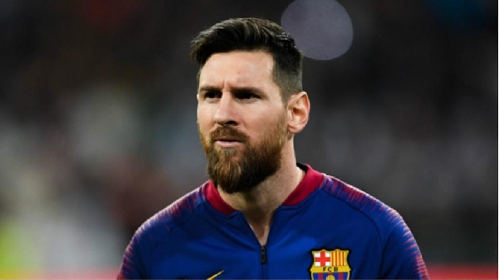 Barcelona star Lionel Messi.