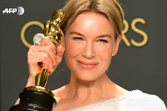 """Retour gagnant aux Oscars pour Renée Zellweger dans """"Judy"""". Photo: AFP"""