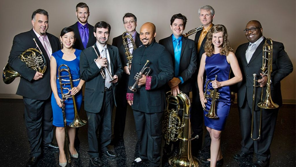 the Rodney Marsalis Philadelphia Big Brass concert