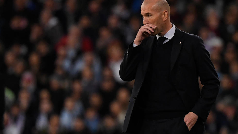 C1: l'invincible Zidane a-t-il perdu la main ? Photo: AFP