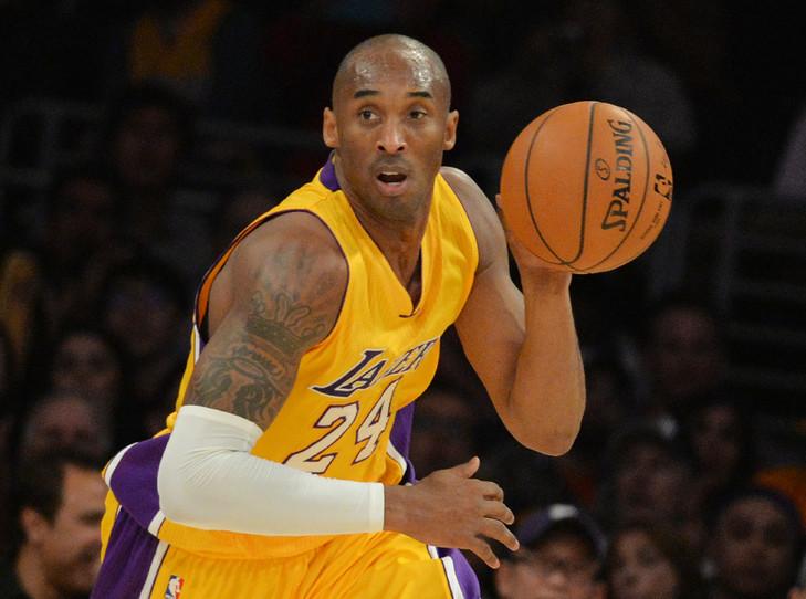 Kobe Bryant le 2 janvier 2015 lors d'un match des Los Angeles Lakers contre les Grizzlies de Memphis, à Los Angeles / AFP/Archives