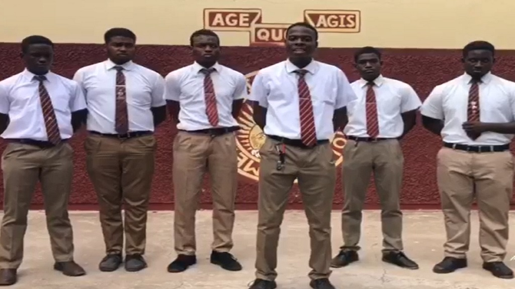 Sixth formers at the Wolmer's Boys' School in Kingston apologise over the verbal abuse directed at the principal of Wolmer's Girls' School by a group of lower school students.