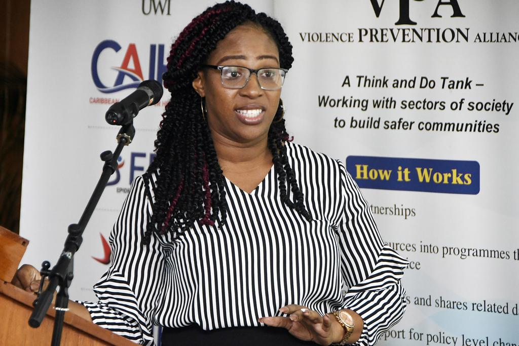 Erica Allen, violence interruption specialist at the Peace Management Initiative.