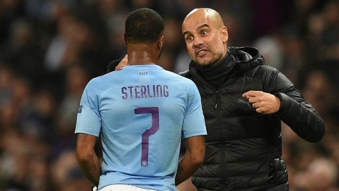 Comme Sterling, Guardiola veut rester à City. Photo: AFP