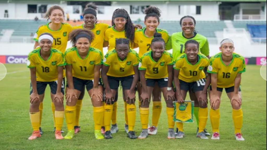 Jamaica's Under-20 Reggae Girlz.
