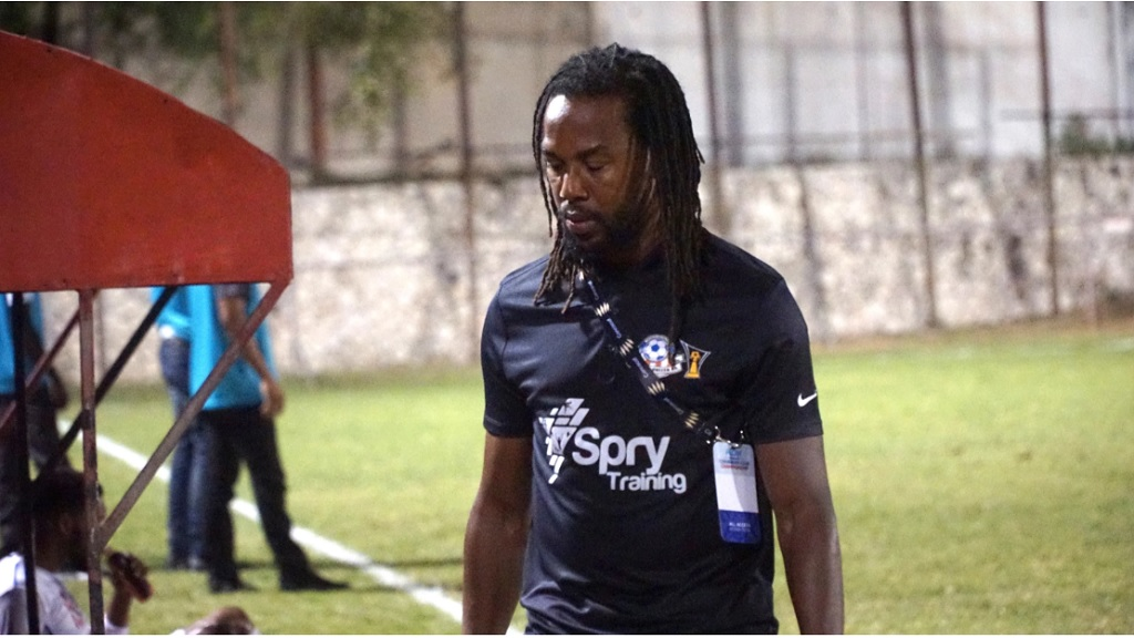 Portmore United head coach Ricardo Gardner. (PHOTO: Concacaf.com).