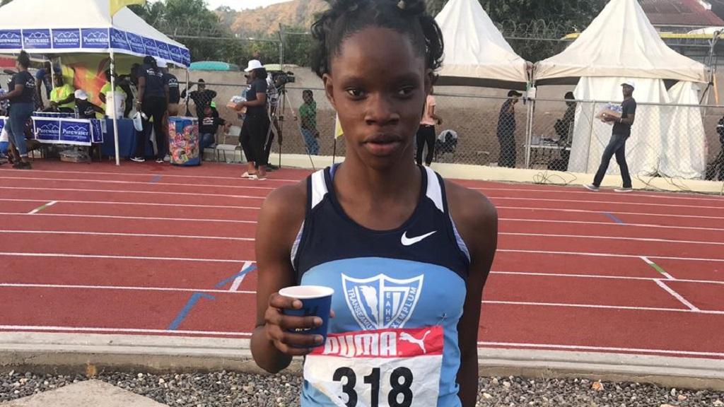 Edwin Allen star athlete Tia Clayton.