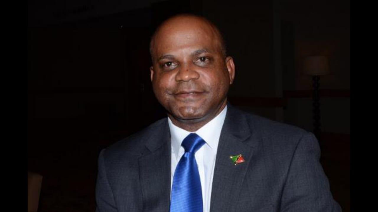 The Honourable Lindsay Grant, Minister of Tourism St Kitts & Nevis.