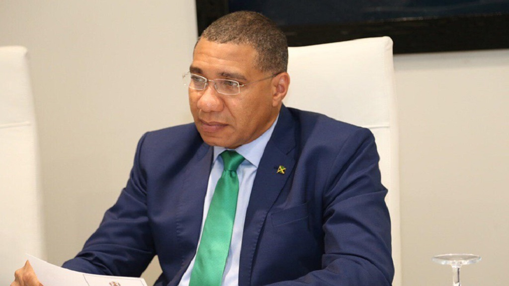 Jamaica Prime Minister Andrew Holness (FILE)