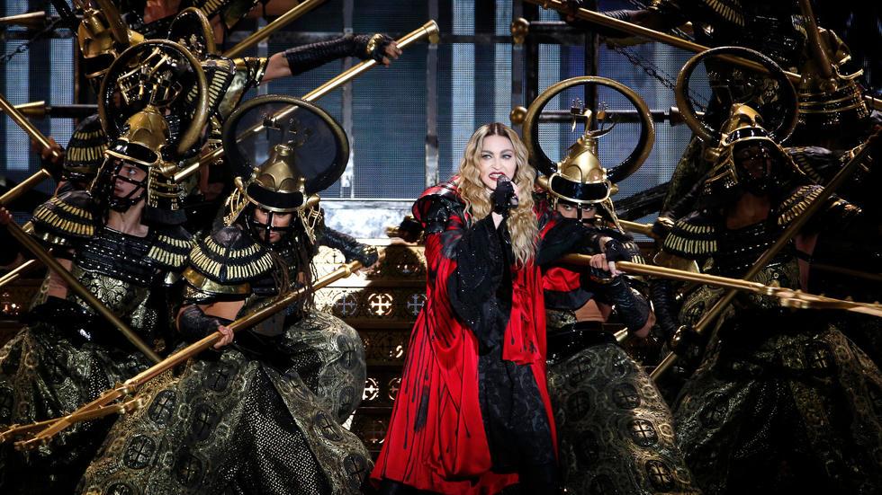 Madonna au Grand Rex: rendez-vous avec Madame X. Photo: AFP