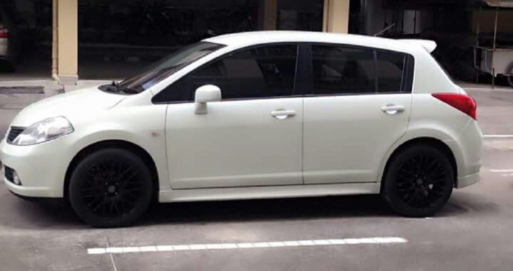 File footage of Nissan Tiida.