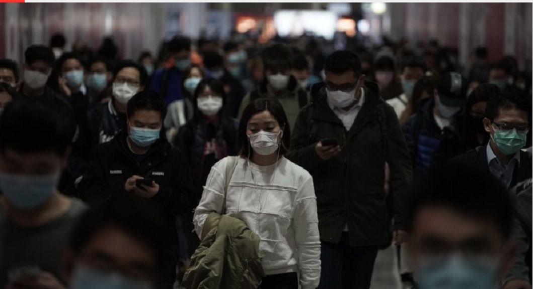 People wearing masks, walk in a subway station, in Hong Kong, Friday, February 7. Hong Kong on Friday confirmed 25 cases of a new virus that originated in the Chinese province of Hubei. According to the latest figures, 233 new cases of the novel coronavirus have been confirmed globally, Hong Kong's Chief Secretary for Admissions told a news conference. (AP Photo/Kin Cheung)