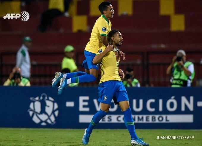 Le brésil ira défendre son titre à Tokyo. Photo: AFP