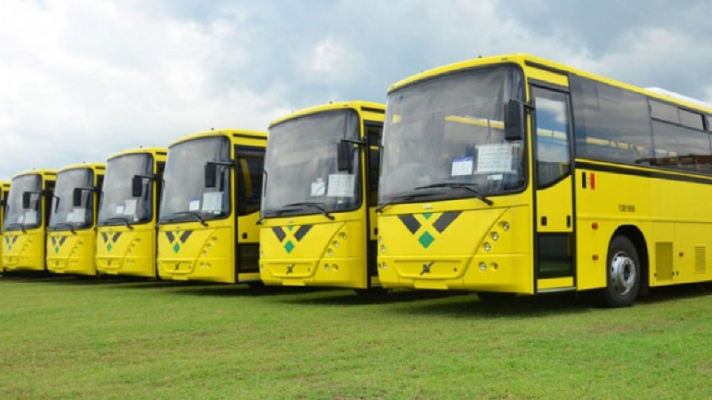 File photo of some of the existing JUTC buses.