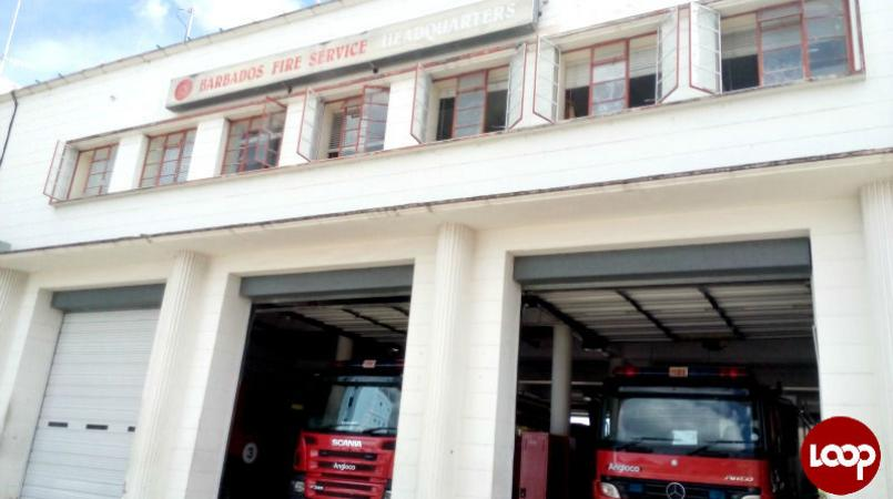 Probyn Street Fire Station in Bridgetown, St Michael (FILE)