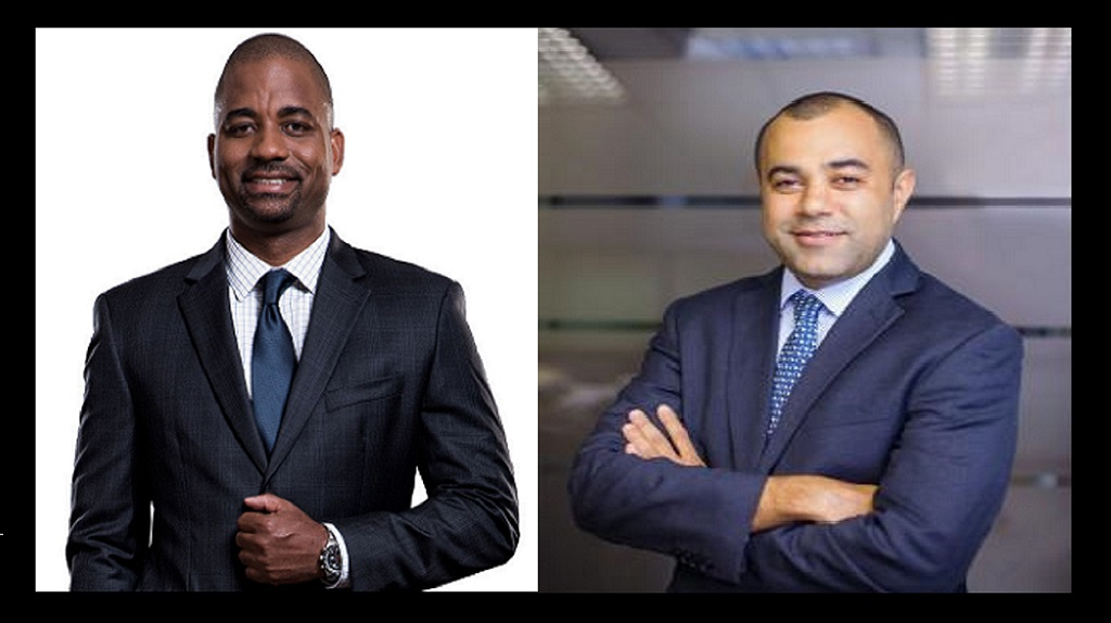 Steven  Gooden, CEO of NCB Capital Markets  (left) and Eppley's Managing Director Nicholas A. Scott.
