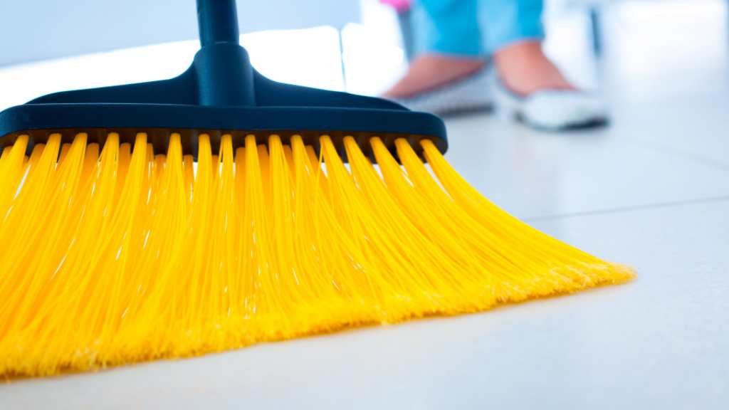 Broom (Stock Photo Image)