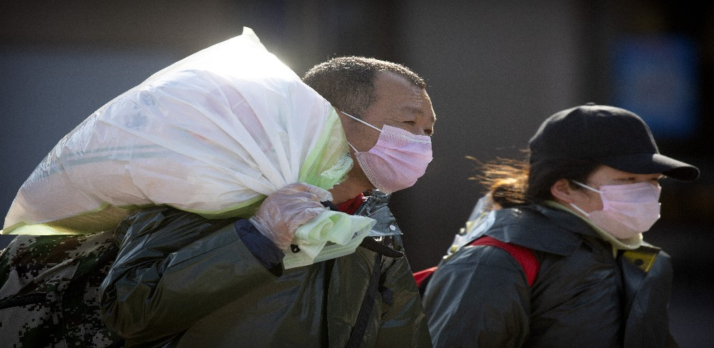 A coronavirus, recently named COVID-19, has infected more than 70,000 people globally since it was first reported in late 2019.The spread of the disease has resulted in production stalling in China with global supply chains also affected. (AP Photo)