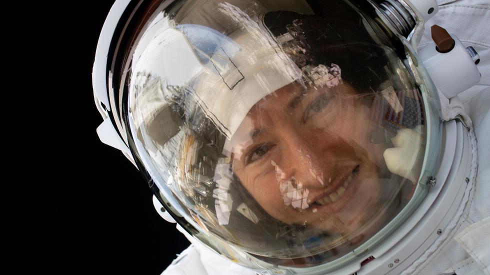 L'astronaute américaine de retour sur Terre, après 11 mois à bord de l'ISS. Photo: AFP