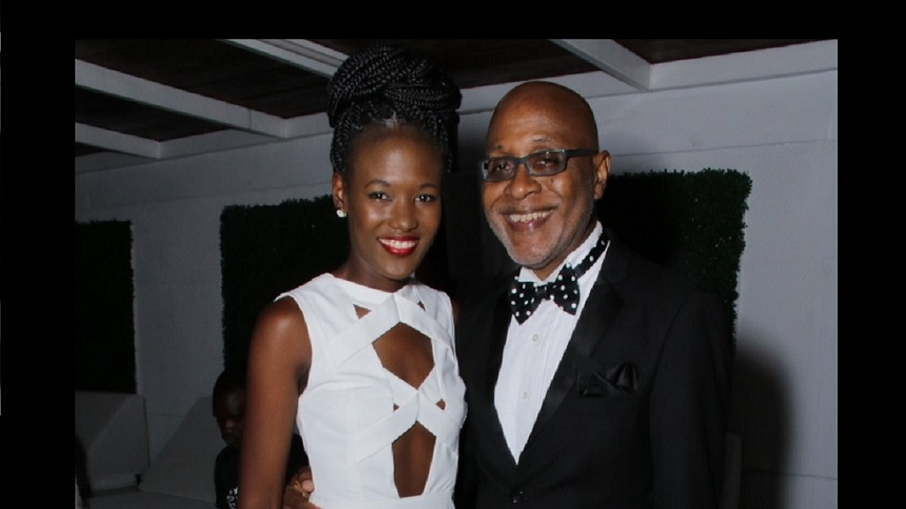 Pulse Chairman Kingsley Cooper and his daughter, Safia who serves as managing director for the company.