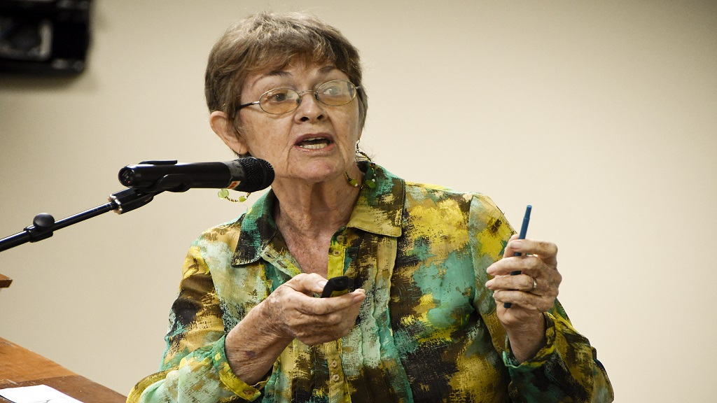 Jennifer Jones, sociologist and the lead investigator of Social Norms Baseline Study.
