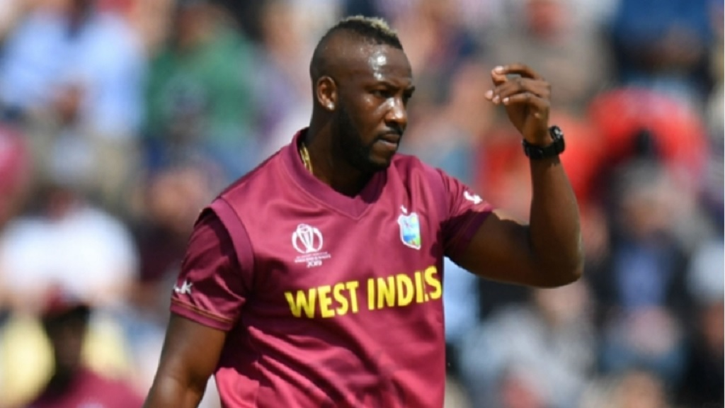 Andre Russell of West Indies.