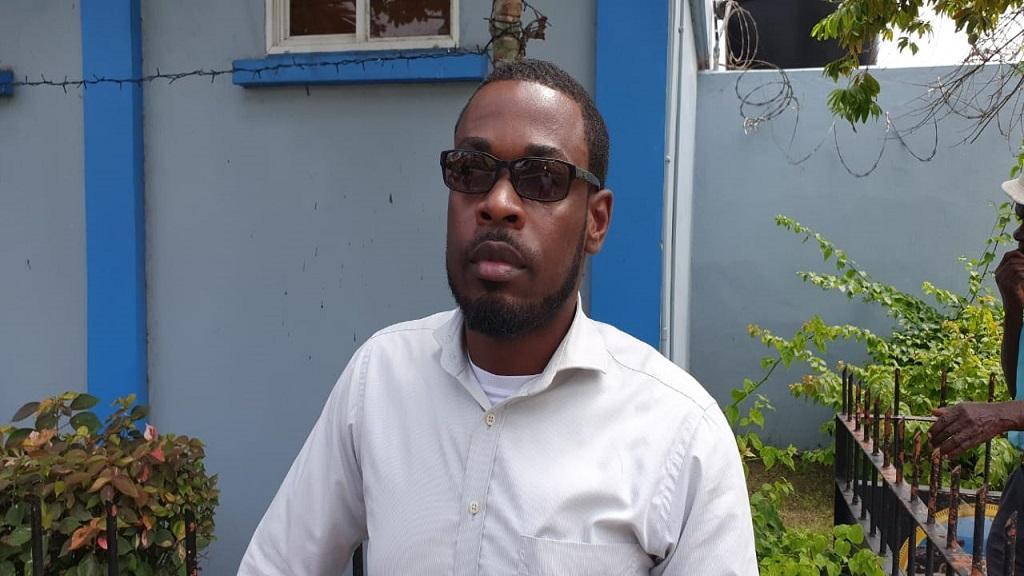 NWU Secretary General Johann Harewood