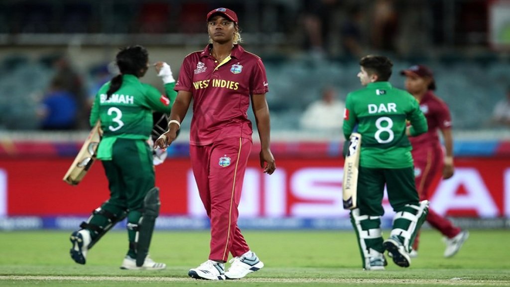 Action from the  ICC Women's T20 World Cup match between West Indies and Pakistan at the Munaka Oval in Canberra, Australia on Wednesday, February 26, 2020. (PHOTO: Cricket West Indies).