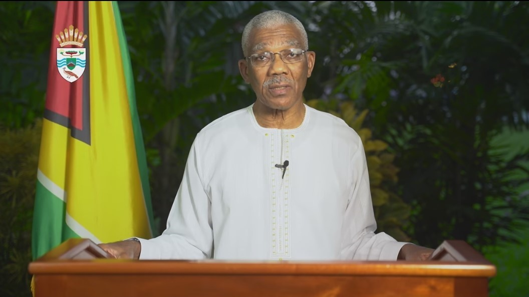 President of Guyana David Granger