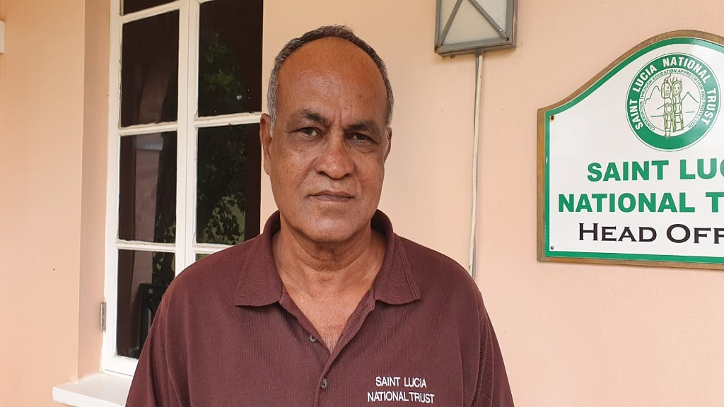Saint Lucia National Trust Executive Director, Bishnu Tulsie