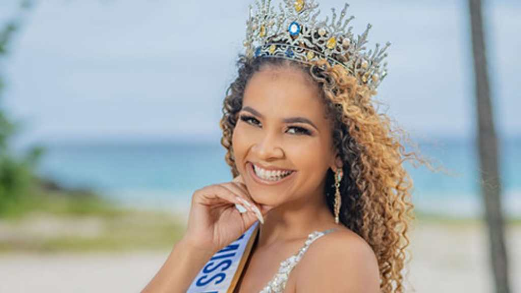 Newly crowned Miss Universe Barbados, Miss Hillary Ann Williams