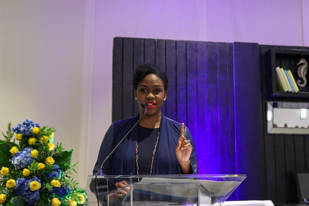 First Global Bank President and CEO Mariame McIntosh Robinson
