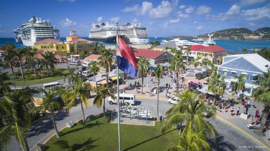Photo via facebook: Port St Maarten