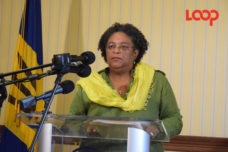 Caricom Chairman and Barbados Prime Minister Mia Mottley.