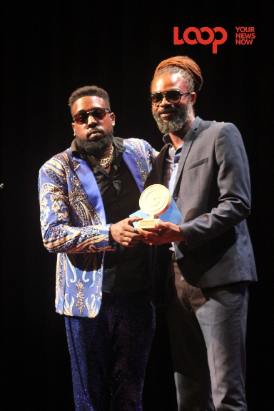 Leadpipe was awarded Soca Artiste of the Year and Soca Song of the Year