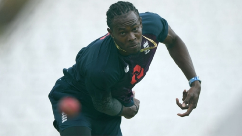Jofra Archer is progessing as expected in his recovery from an elbow injury.