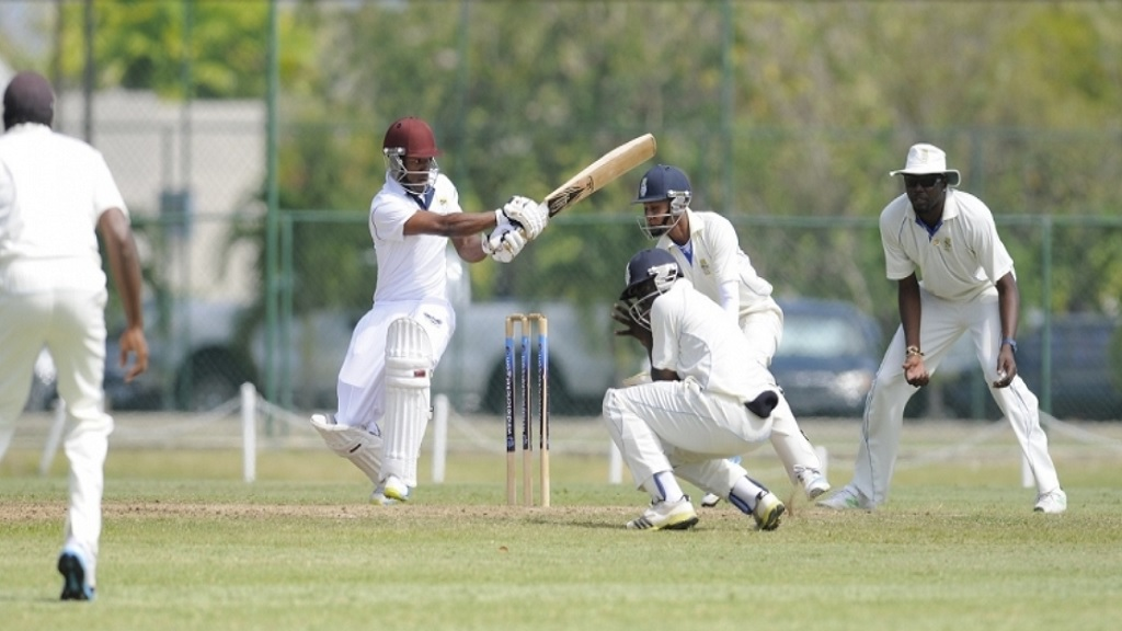 Action from a recent game in the West Indies Championship.
