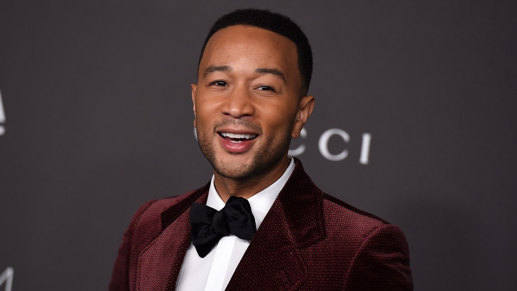 Grammy Award winner, John Legend, went second