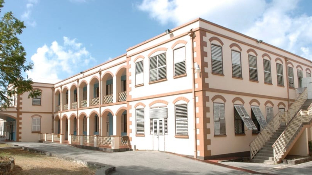 The Geriatric Hospital in Beckles Road (BGIS)