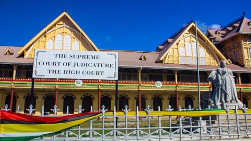 The High Court of Guyana. Photo: Dillon De Shong