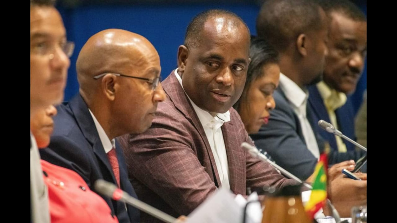 Prime Minister of Dominica, the Honourable Roosevelt Skerrit