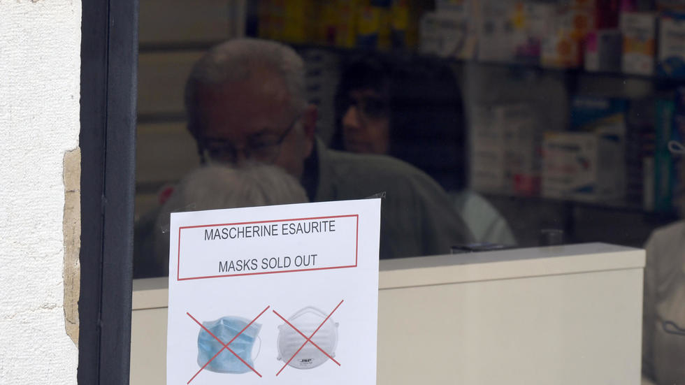 Coronavirus: face à l'inquiétude, la demande de masques explose. Photo: AFP