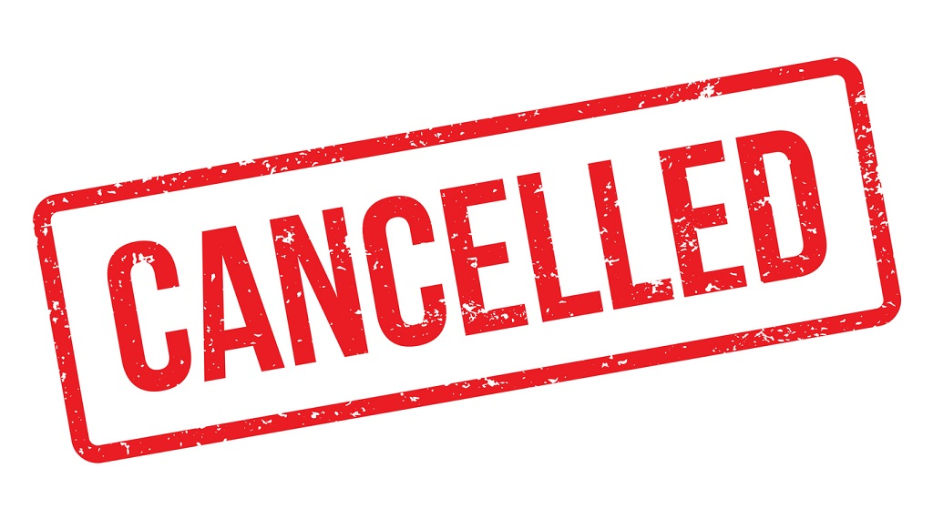 cancelled covid cancel due dfe canceled postponed tobago staggering apprenticeship carnival mooresville starts coronavirus monthly stop publication gcse jazz nc