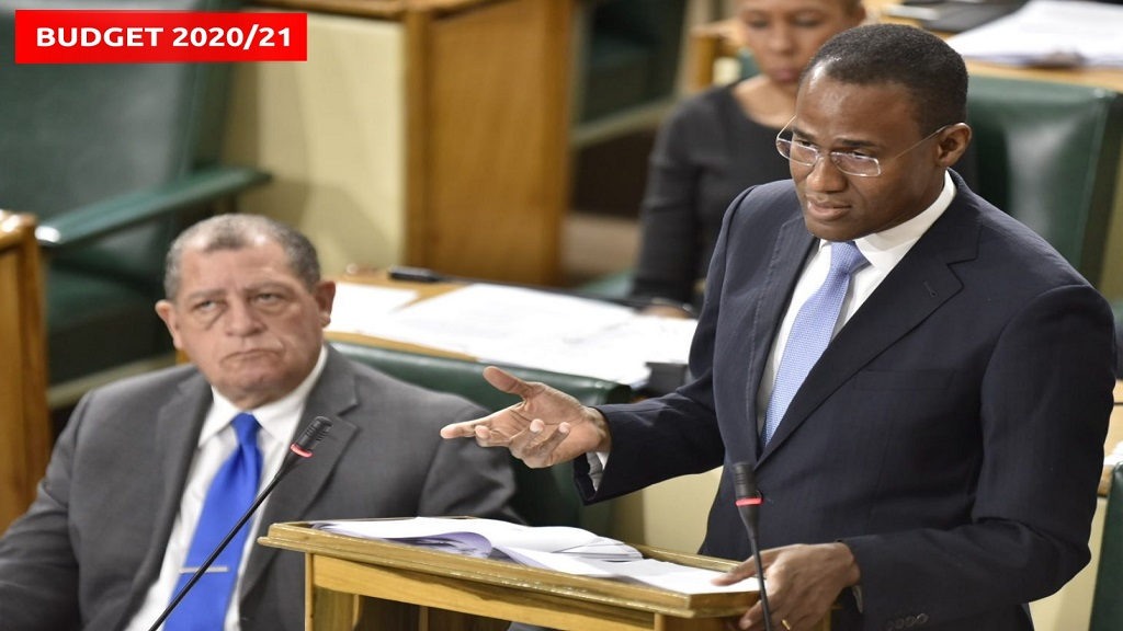 Finance Minister Nigel Clarke opened the Budget Debate on Tuesday.