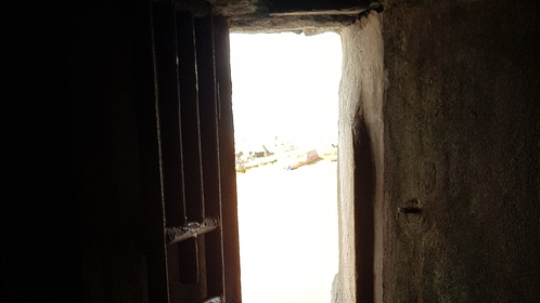 The Door of No Return in Ghana. Photos by Annabelle Brasnell