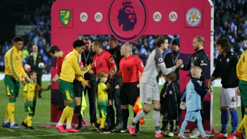 Handshakes in the Premier League prior to games will not take place until further notice.