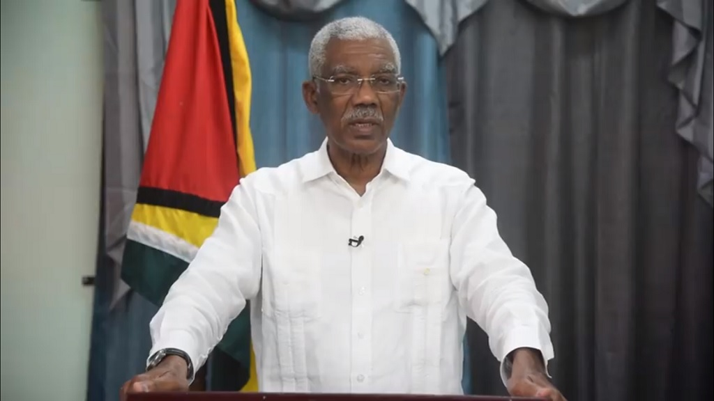 President of Guyana, David Granger
